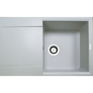 Гранитная мойка Adamant Horizon 790*500*230 серый