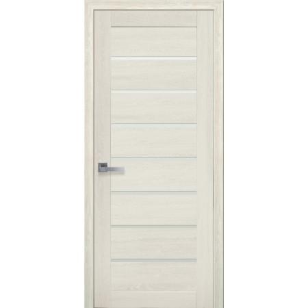 Двери межкомнатные Новый Стиль Леона дуб молочный