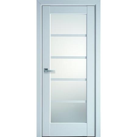 Двери межкомнатные Новый Стиль Муза белый мат