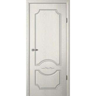 Двери межкомнатные Albero Леонардо ясень грей патина глухое Vinil