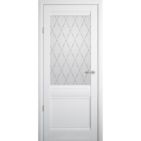 Двери межкомнатные  Albero Рим белые глухое Vinil