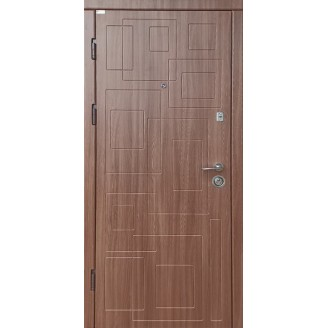 """Двери входные накладка """"DN-1"""" 850(950)*2030мм  Дуб шимо темный"""