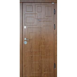 """Двери входные накладка """"DN-1"""" 850(950)*2030мм  Дуб золотой"""