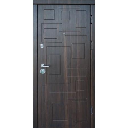 """Двери входные накладка """"DN-1"""" 850(950)*2030мм  Дуб орех мореный"""