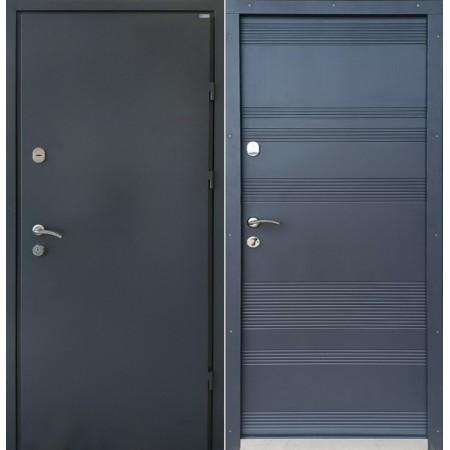 Двери входные Эскада-31  цвет ПВХ-58 860 мм на 2050мм