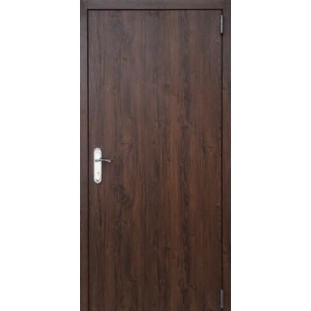 Техническая входная дверь 860/ 960мм на 2050мм дуб темный
