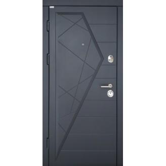 """Двери входные """"СТАНДАРТ"""" Айсберг Цвет Графит850(950)*2030мм  Производитель Steel Art"""