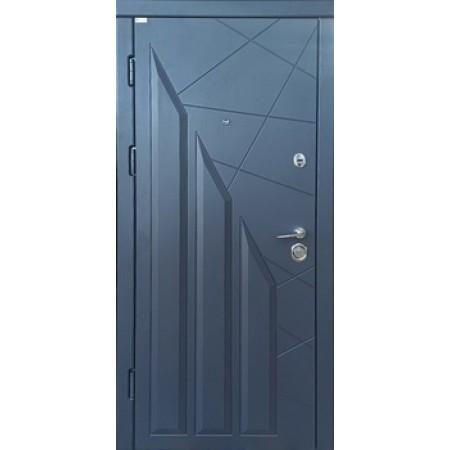 Двери входные Стандарт Геометрия 850(950)*2030мм  цвет графит