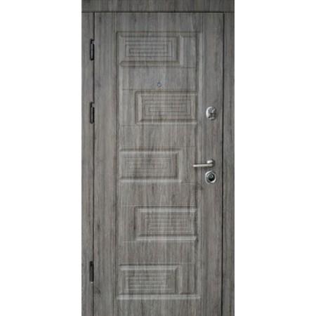"""Двери входные """"Пиана""""    Дуб английский 850(950)*2030мм  для квартиры Производитель Steel Art"""