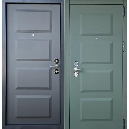 Двери входные Троя New Multipoint для квартиры  850/950 мм на 2050мм Камуфляж / Асфальт