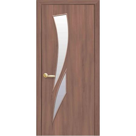 Двери межкомнатные Новый Стиль Камея Ольха 3 D