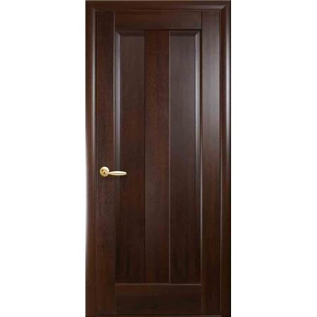 Двери межкомнатные Новый Стиль Премьера глухая каштан