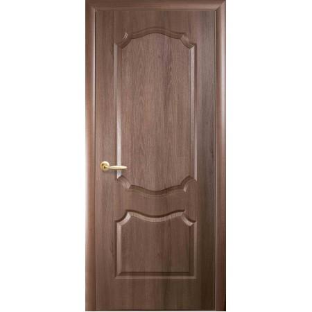 Двери межкомнатные Новый Стиль Стандарт Вензель глухая золотая ольха