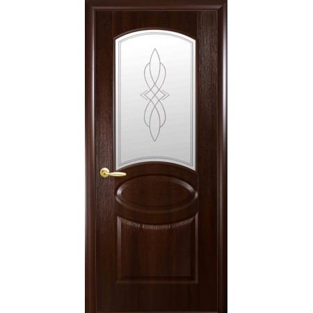 Двери межкомнатные Новый Стиль  Овал каштан