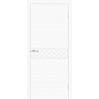 Двери Омис Геометрия 08 белый silk matt