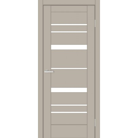Двери Омис Rino 02 G ПВХ мокко silk matt