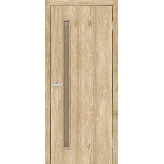 Двери Омис T01 ПО кора бронза NL дуб Саванна