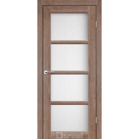Дверное полотно Avant орех бургун стекло сатин