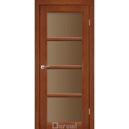 Двери AVANT Орех роял стекло сатин бронза