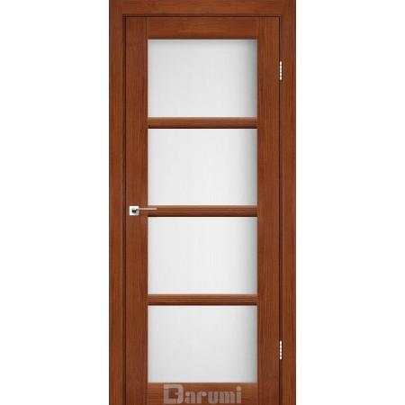 Дверное полотно Avant  орех роял со стеклом сатин