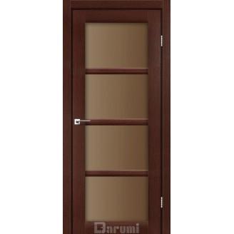 Двери AVANT Венге панга стекло сатин бронза