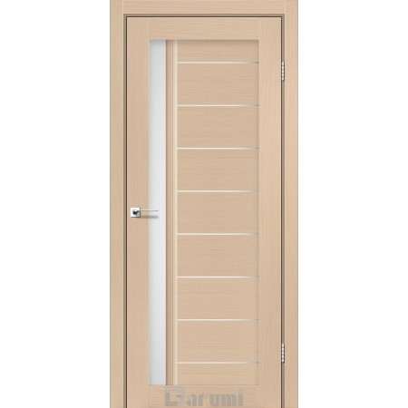 Дверное полотно Bordo дуб боровый со стеклом сатин