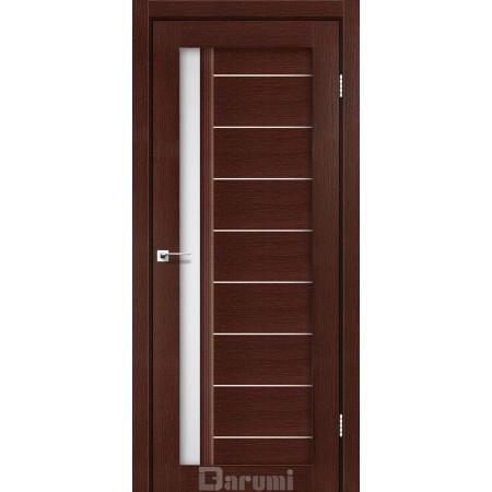 Дверное полотно Bordo венге панга  со стеклом сатин