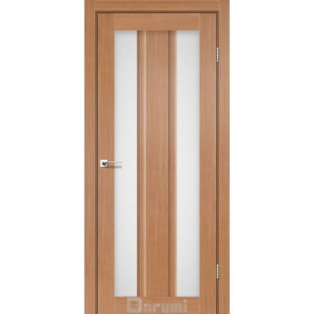 Двери SELESTA Дуб натуральный со стеклом сатин
