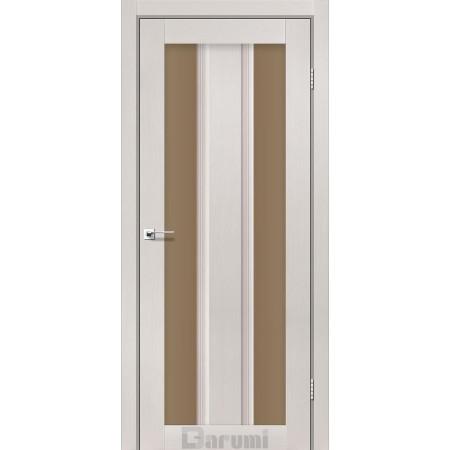 Двери SELESTA Дуб ольс cтекло сатин бронза