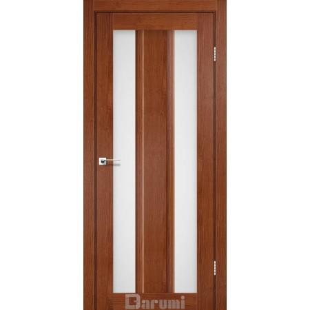 Двери SELESTA орех роял со стеклом сатин