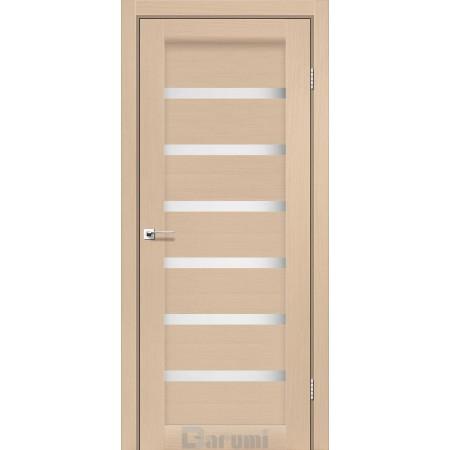 Дверное полотно Vela дуб боровой со стеклом сатин