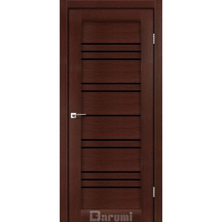 Двери VERSAL Венге панга стекло черное «Lacobel»