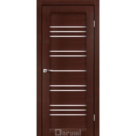 Двери VERSAL Венге панга со стеклом сатин белый