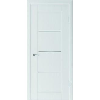 Двери межкомнатные Верона белая,  дуб грей