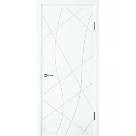 Двери межкомнатные Парма белый супер мат