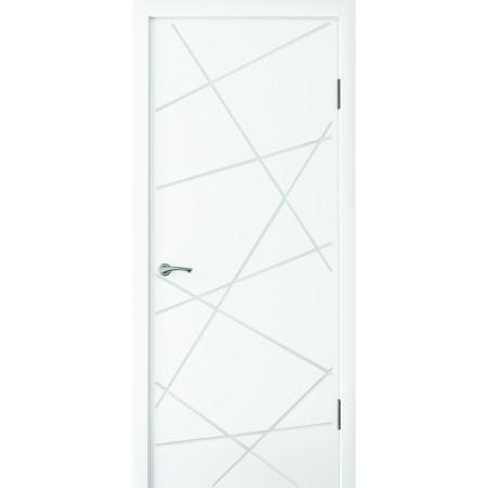 Двери межкомнатные Стиль белый супер мат