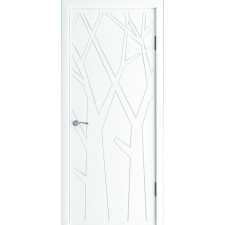 Двери межкомнатные Радайс белый супер мат