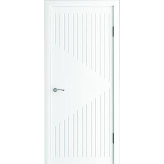 Двери межкомнатные Модена белый супер мат
