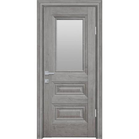 Двери межкомнатные Новый Стиль Камилла со стеклом  орех скандинавский