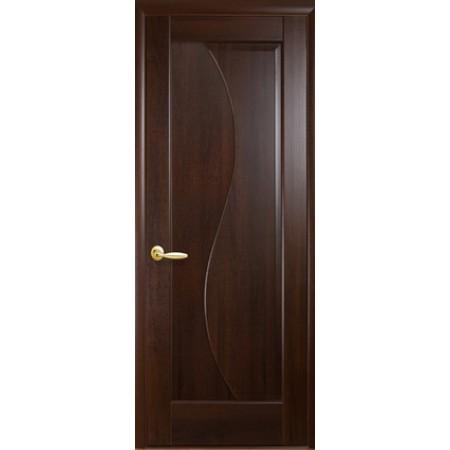 Двери межкомнатные Эскада глухое каштан
