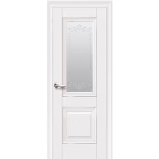 Двери Имидж со стеклом с молдингом