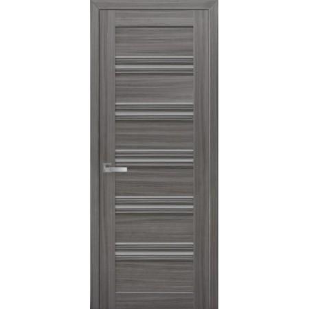 Двери межкомнатные Виченца жемчуг графит