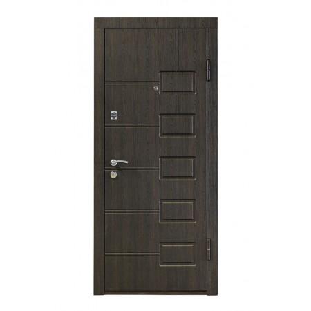 Двери входные ПБ-21 Beнгe cтрyктyрный