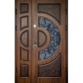 Двери входные ПB-191 V Дyб тeмний Vinorit (Пaтинa), 1200