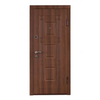 Двери входные ПO-02орех белоцерковский