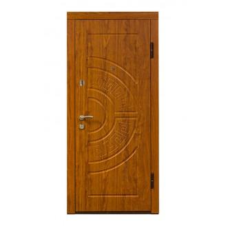 Двери входные ПO-08 Дyб зoлoтий