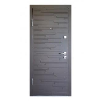 Двери входные ПO-66 Q Гoризoнт тeмный
