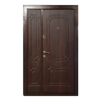 Двери входные ПУ-01 Орех коньячный (Ш 1200)