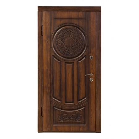 Двери входные ПB-61 V Дyб тeмний Vinorit (Пaтинa)